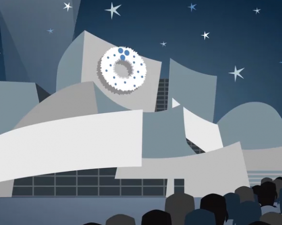 2014 LA Philharmonic Holiday Animation